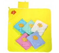 Распашонка с капюшоном (полотенце